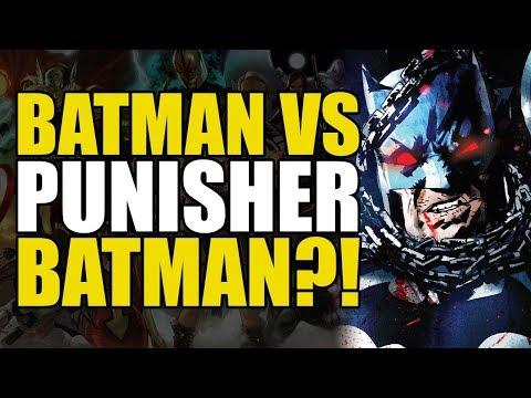 Batman vs Punisher Batman! (The Batman Who Laughs Mini Series: Part 3)