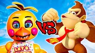 Іграшка Чіка проти Донкі Конг - епічна битва - Лефтій 4 деад 2 гри (Л4Д2 добре виконаний скін)