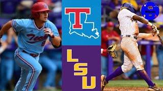 #14 Louisiana Tech Vs LSU Highlights (Crazy Game!) | 2021 College Baseball Highlights