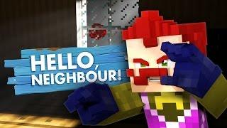 Minecraft HELLO NEIGHBOUR - MEETING THE CREEPY NEIGHBOUR!