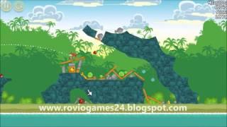 Angry Birds 21-11 Bad Piggies 3 Star Walkthrough (Angry Birds Classic 21-11)