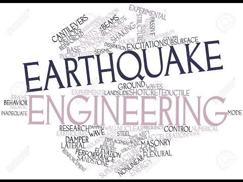What is EARTHQUAKE ENGINEERING? EARTHQUAKE ENGINEERING meaning, definition & explanation