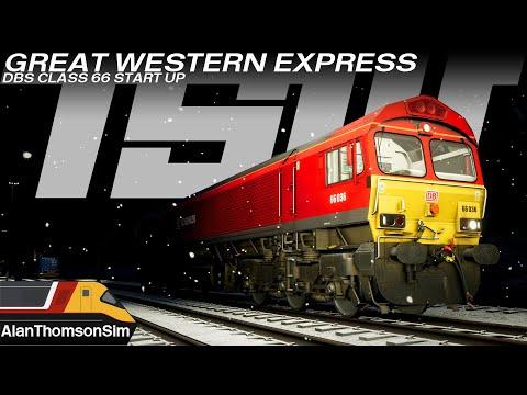 TSW: Great Western Express Class 66 Real World Preparation Procedure