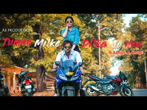 Tumse Milke Dilka Jo Haal | Main Hoon Na | A Gangster Story | Abhijit & Shilpi | Tiktok Famous Song