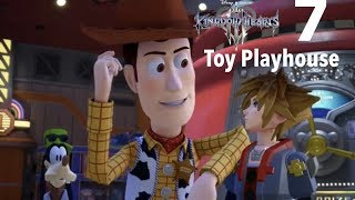 Kingdom Hearts 3 Part 7-Toy Playhouse