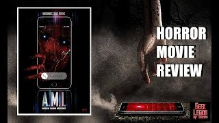 A.M.I. ( 2019 Debs Howard ) Smart Phone A.I. Horror Movie Review