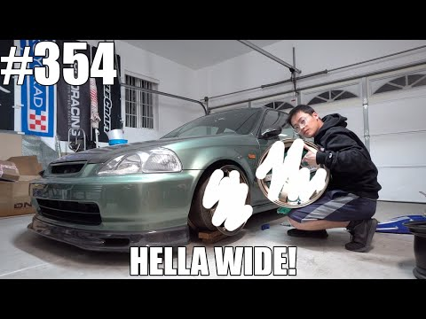Will These New WIDE Wheels Even Fit My EK Hatch?!