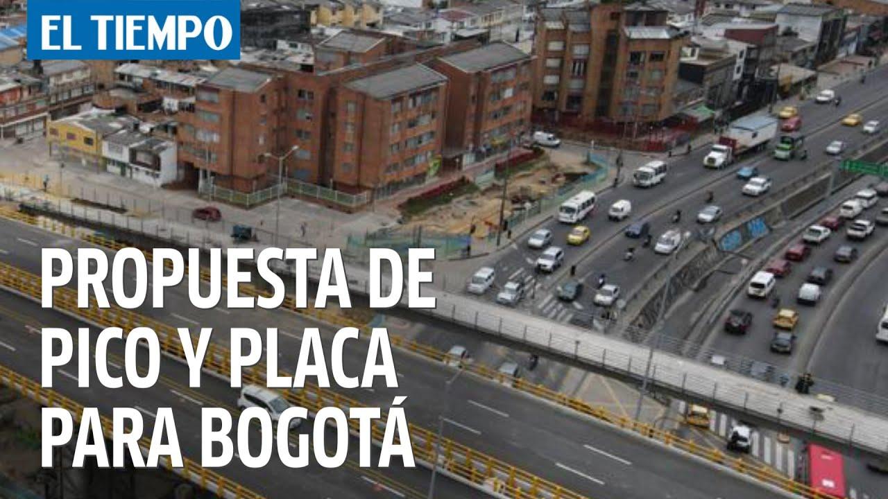 Propuesta de pico y placa para Bogotá