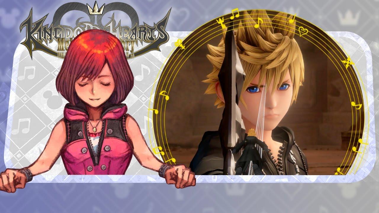 Roxas meets Naminé - Kingdom Hearts III Imagine [ MMD