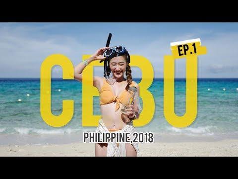 Vlog Cebu, Philippines ดำน้ำที่เกาะเซบู พา  เที่ยว