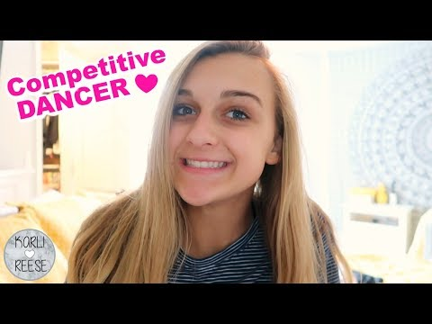 WHAT'S IT LIKE TO BE A COMPETITIVE DANCER?