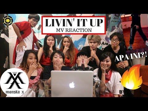 [MV Reaction] MONSTA X - LIVIN' IT UP   Code DC Indonesia