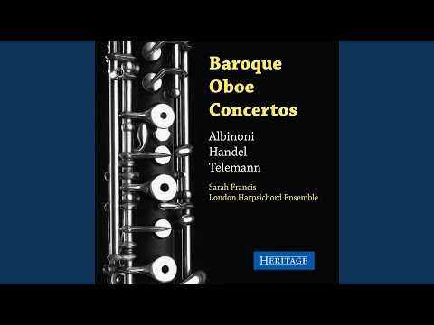 Sonata For Oboe And Continuo In C Minor Op 1 Hwv 366 I Largo