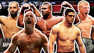 Top 5 UFC Physiques That Melted Post-USADA