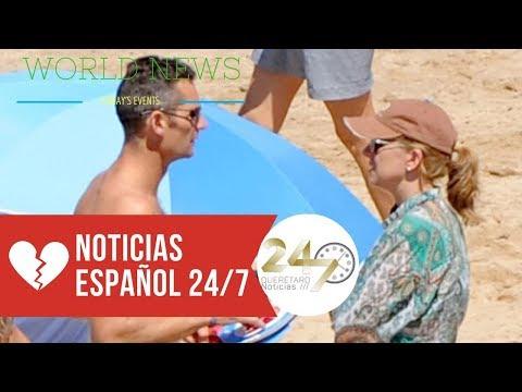 Pillan a Iñaki Urdangarín mientras se cambia de bañador en la playa