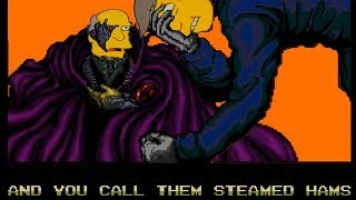 Steamed Hams, but it's a Viral Meme from 2001