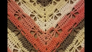 Part 2 - The Butterfly Stitch Prayer Shawl Crochet Tutorial!