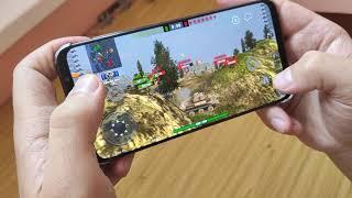 Игры на смартфоне Meizu 16th  -  World of Tanks / Видео