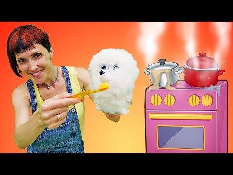 Маша Капуки Кануки и Гиджет из Тайной жизни домашних животных готовят ужин!