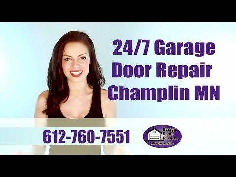 24/7 Garage Door Repair Champlin MN, Torsion Spring Repair ... on 24' Garage Door  id=55435