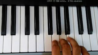 Gore Gore Mukhde Pe Kala Kala Chasma | Suhaag | Keyboard