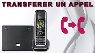 Transférer un appel avec le Gigaset C530IP