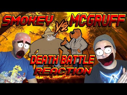 THIS WAS FUCKING AWESOME!!! | Smokey Bear VS McGruff The Crime Dog Death Battle Reaction
