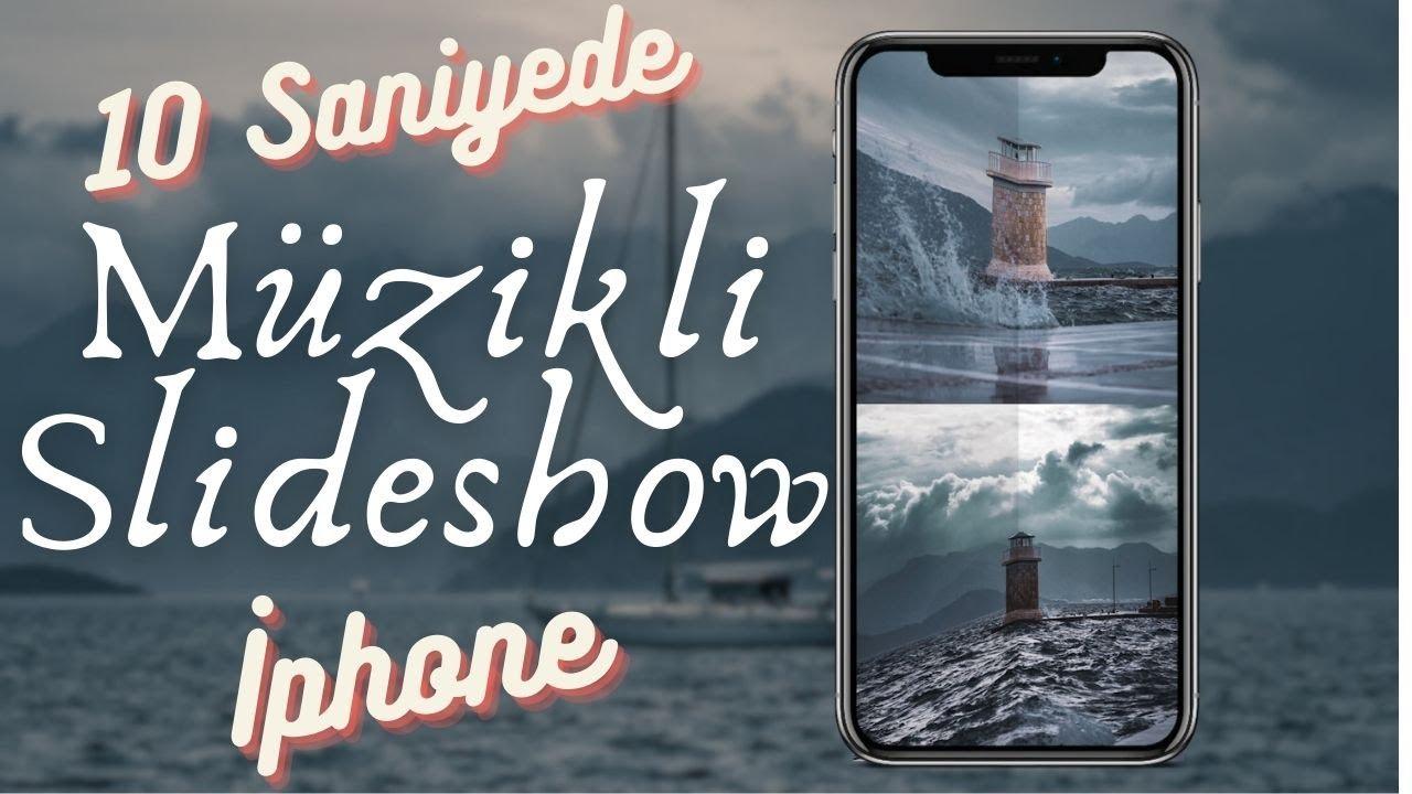10 Saniyede Ücretsiz Müzikli SlideShow Video! İphone