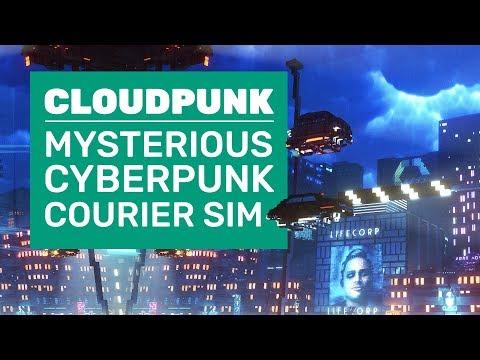 Cloudpunk Is A Cyberpunk Courier Sim | Cloudpunk Gameplay