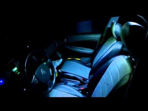 Nissan Almera Classic - вежливый свет в салоне