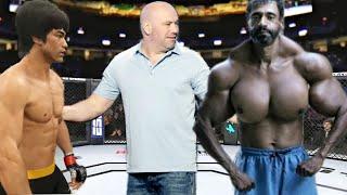 PS5   Bruce Lee vs. Freak Valdir (EA Sports UFC 4)