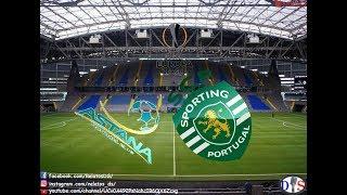 Rádio Antena 1 - Astana x Sporting - Relato dos Golos