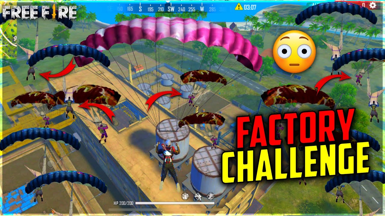 Factory challenge free fire 50 player in last zone?|op reaction Dj alok giveaway - Garena free fire