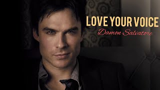 Damon Salvatore/ Love Your Voice  Music Video