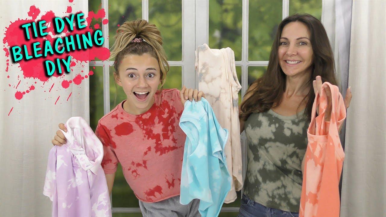 BLEACHING CLOTHES HAUL DIY | We Are The Davises