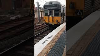 S43 + S127 arriving at Sydney Central station platform 17.