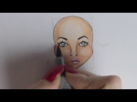 how to draw a face wie male ich ein gesicht foxy draws youtube. Black Bedroom Furniture Sets. Home Design Ideas