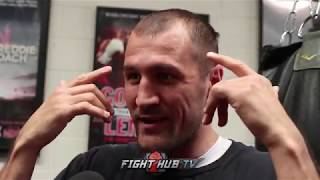 KOVALEV VS. SHABRANSKYY - SERGEY KOVALEV'S FULL MEDIA SCRUM
