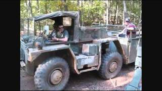 Gama Goat trail riding - Steel Soldiers rally GA 2010