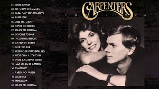 Top 35 Greatest The Carpenters Songs   The Carpenter Greatest Hits Full Album