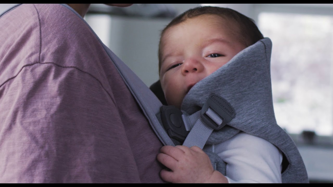 Soft And Snuggly Baby Carrier Mini From Babybjorn Youtube