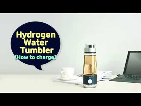 [How to charge] iQ7 Hydrogen Water  Tumbler