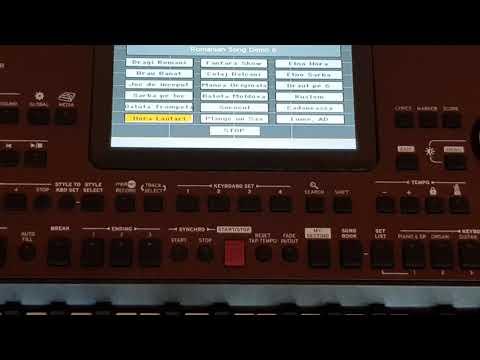 Korg Pa700 - Factory Demo Set AD&MC.v.2.0 2018