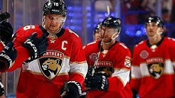 Aleksander Barkov scores to set Panthers record with 95th point of season