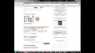 CAPTcoin - Как заработать на вводе капчи много денег Thumbnail
