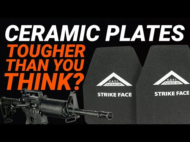 Ceramic Plates: Tougher Than You Think? CATI Level IV Armor Test