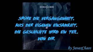 Heimataerde - Niemals mehr [Lyrics on Screen by JavaxChaos]
