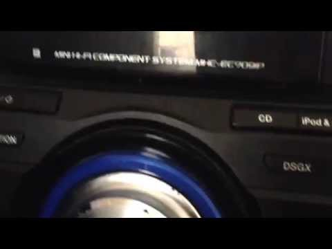 How to fix sony stereo protection