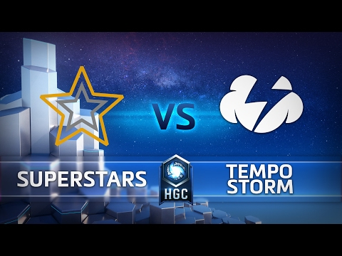 Superstars vs Tempo Storm - HGC NA Group Play - G3