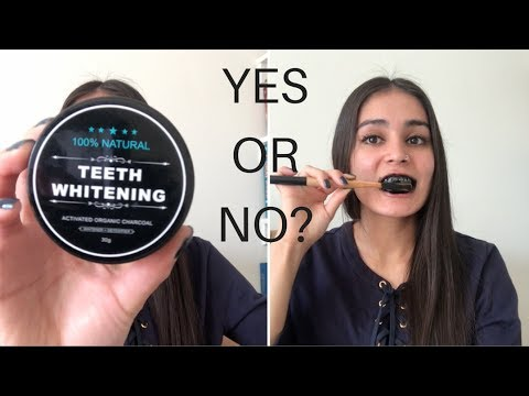 Charcoal Teeth Whitening Powder || Starla